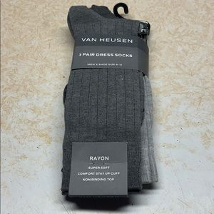 Underwear & Socks - Van Heusen Socks (3pair) New